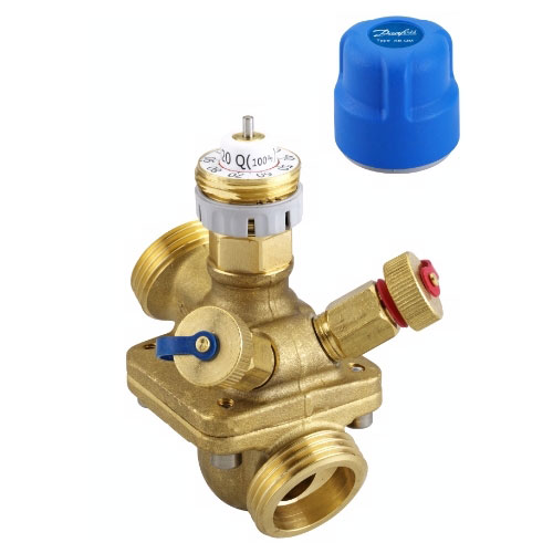 Балансировочные клапаны Danfoss для систем тепло- и холодоснабжения